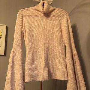 Gianni Bini Flare Sleeve turtleneck sweater